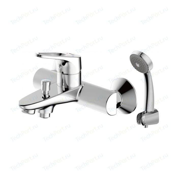 Смеситель для ванны Bravat Drop-D с лейкой (F648162C-B-RUS)