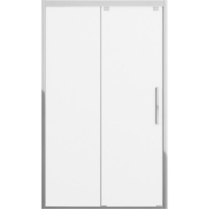 Душевая дверь Bravat Stream 120 в нишу, прозрачная, хром (BD120.4103S)