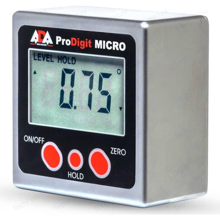 Уровень/угломер электронный ADA Pro-Digit Micro (А00335У) угломер электронный ada anglemeter 40