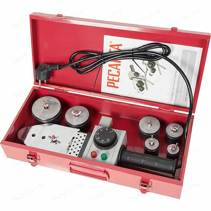 Аппарат для сварки пластиковых труб Ресанта АСПТ 1000