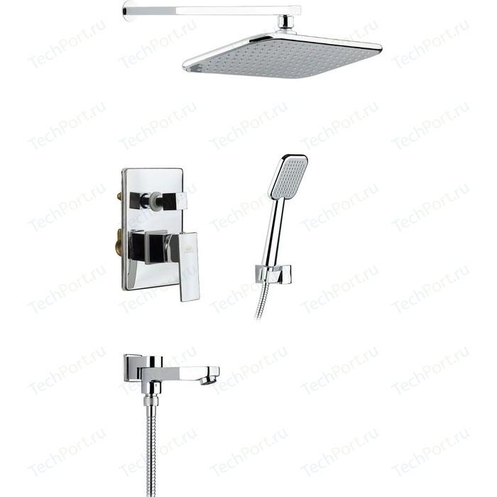 Душевая система Timo Selene для ванны встраиваемая, хром (SX-3069/00SM (1013))