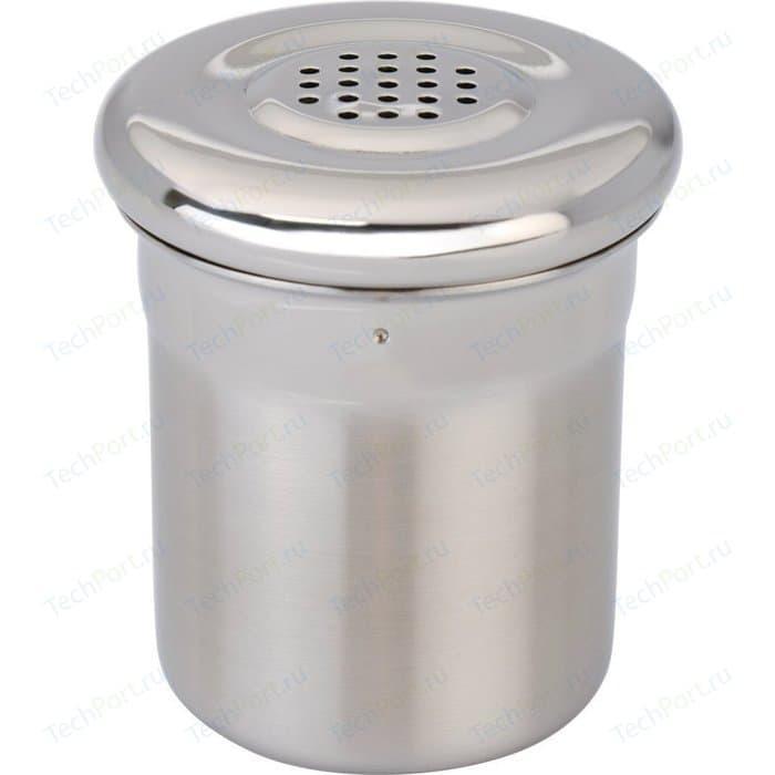 Баночка дозатор для специй мелкого помола 5x6 см BergHOFF Essentials (1100086) лопатка для барбекю essentials 43 см 1108003 berghoff