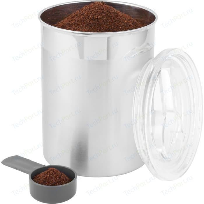 Емкость для сыпучих продуктов с мерной ложкой 12x16 см BergHOFF Essentials (1100181)