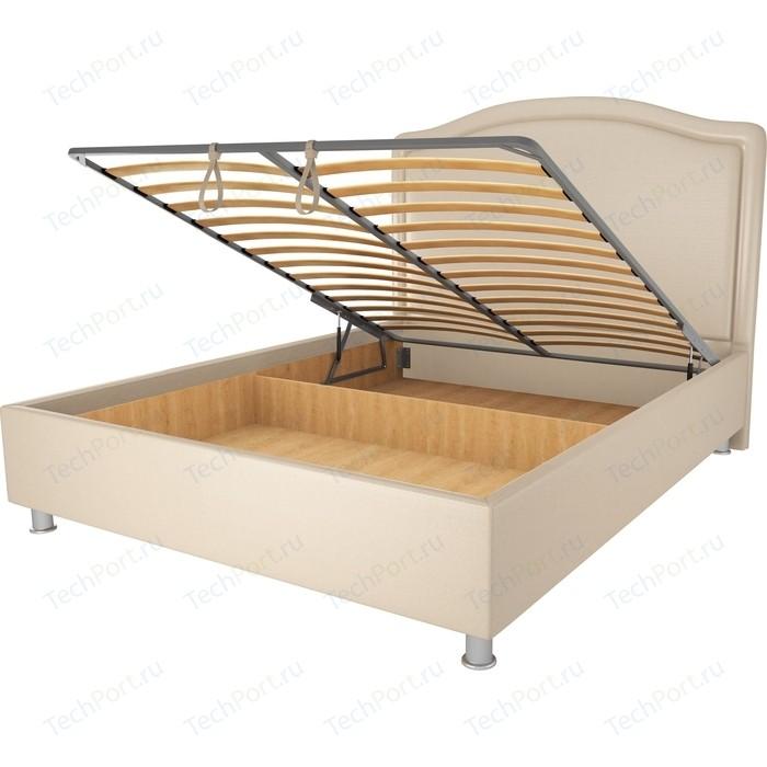 Кровать OrthoSleep Калифорния бисквит механизм и ящик 120х200