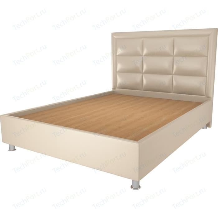Фото - Кровать OrthoSleep Виктория бисквит жесткое основание 80х200 кровать orthosleep виктория бисквит шоколад ортопед основание 80х200