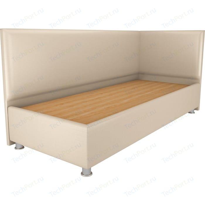 Кровать OrthoSleep Бибионе Лайт жесткое основание Сонтекс Беж 140х200