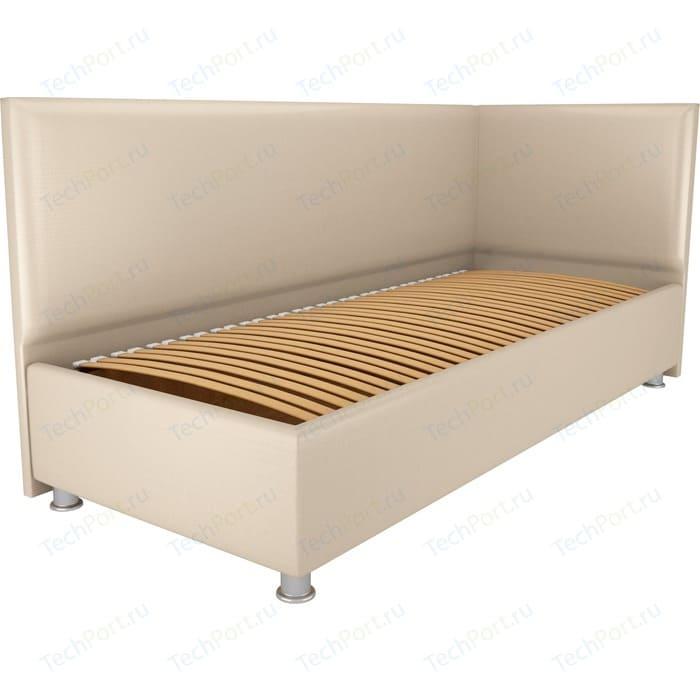 Кровать OrthoSleep Бибионе Лайт ортопед. основание Сонтекс Беж 160х200 кровать orthosleep сполето lite ортопед основание сонтекс беж 160х200