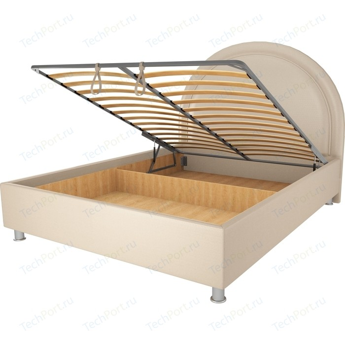 Кровать OrthoSleep Аляска бисквит механизм и ящик 160х200
