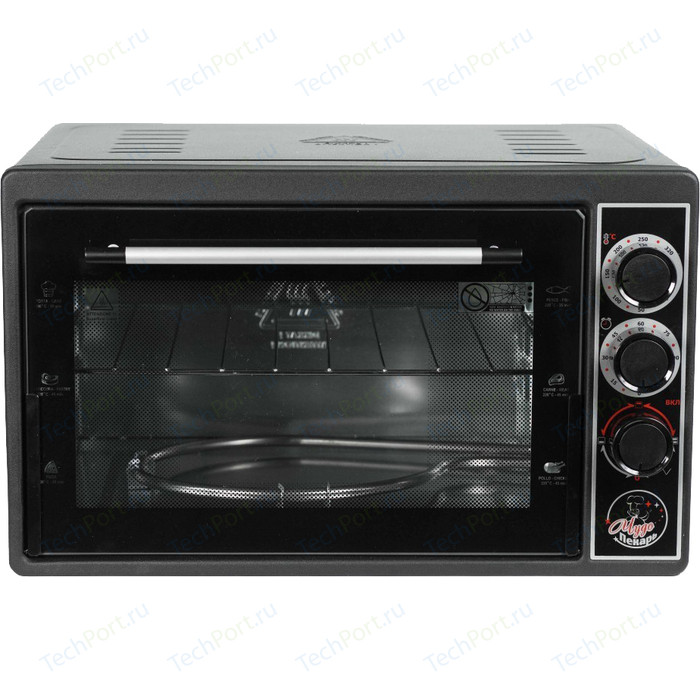 Мини-печь Чудо Пекарь ЭДБ 0124 черный мини печь чудо пекарь эдб 0122 сереб мет