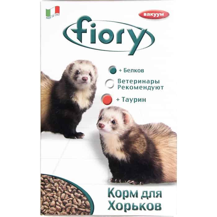 Корм Fiory Farby Croquettes for Ferrets для хорьков 650г