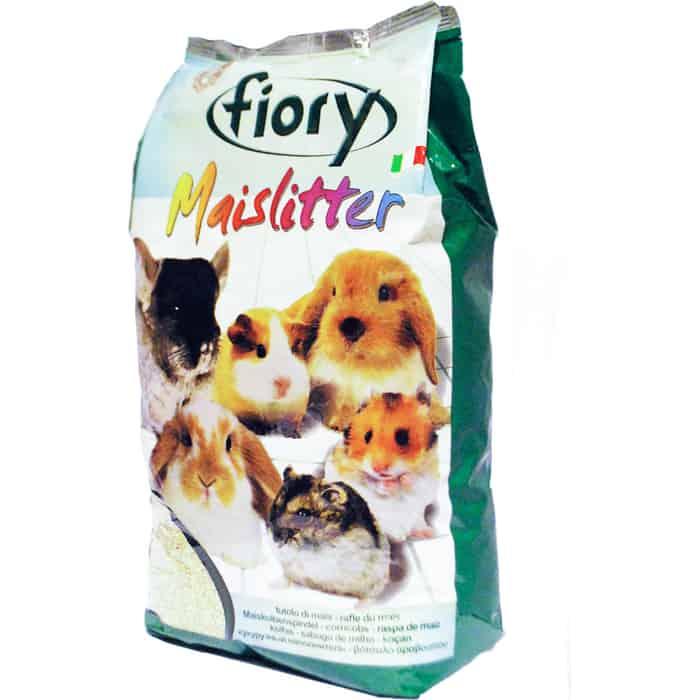 Наполнитель Fiory Maislitter кукурузный впитывающий для грызунов 5л