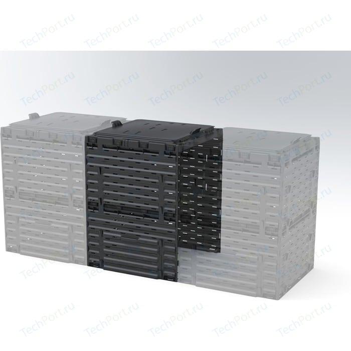 Соединитель для компостера Piteco садового 300 л K1030 чёрный (39581)