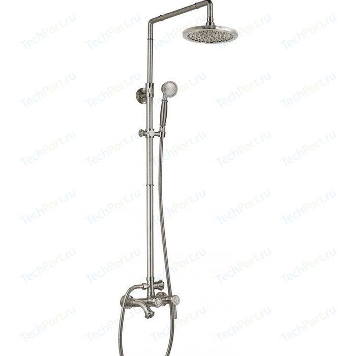Душевая система ZorG Antic серебро (A 201DS-SL)
