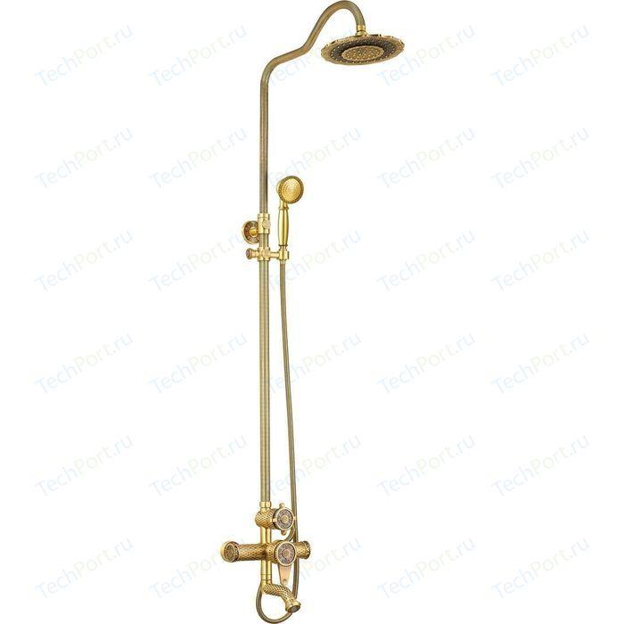 Душевая система ZorG Antic бронза (A 403DS-BR)
