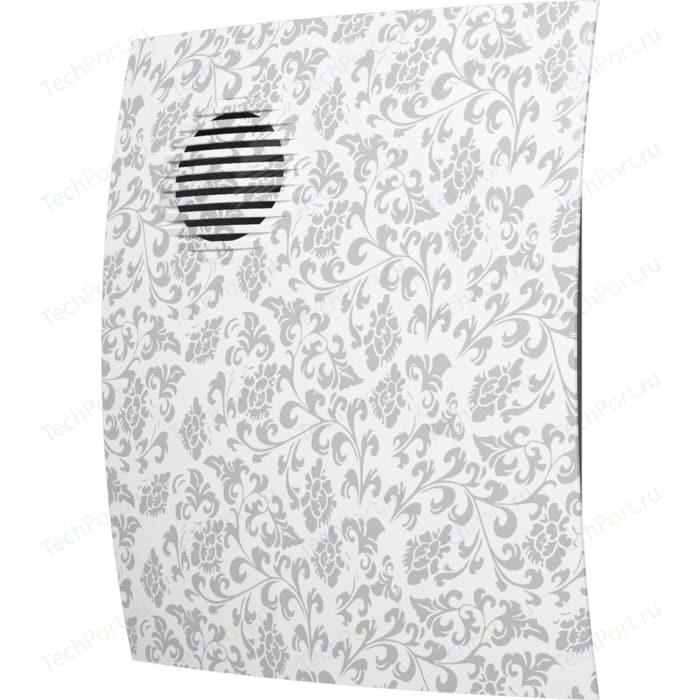 Вентилятор DiCiTi осевой вытяжной с обратным клапаном D 100 декоративный (PARUS 4C white design)