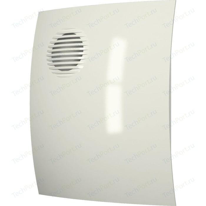 Вентилятор DiCiTi осевой вытяжной D 125 декоративный (PARUS 5 Ivory)
