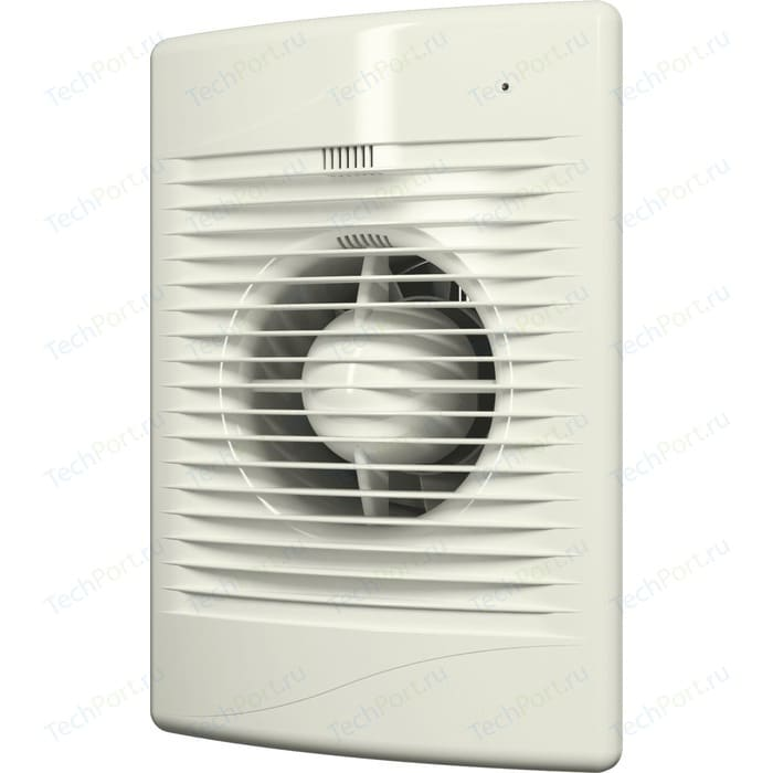 Вентилятор DiCiTi осевой вытяжной с индикацией работы D 125 декоративный (STANDARD 5 Ivory)