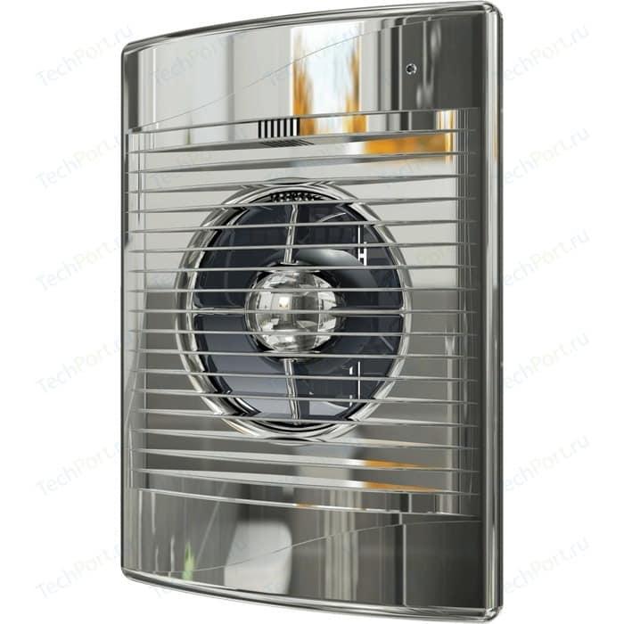 Вентилятор DiCiTi Standard D 125 с обратным клапаном (STANDARD 5C Chrome)