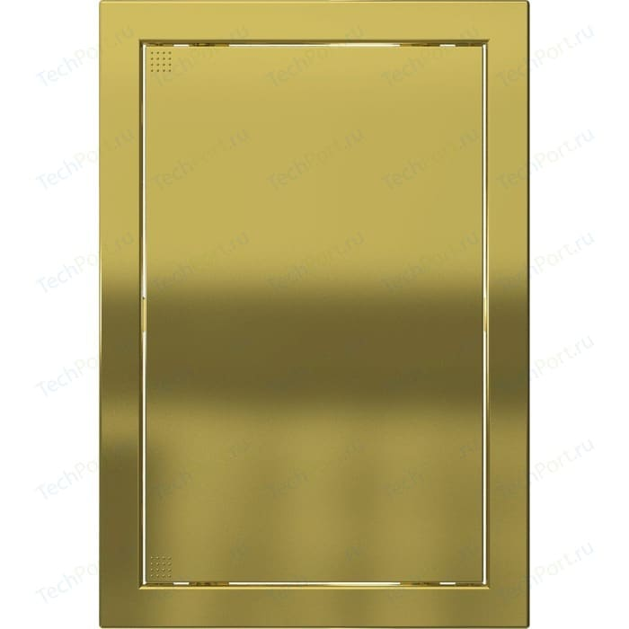 Люк-дверца EVECS ревизионная 218х218 с фланцем 196х196 ABS декоративный (Л2020 Gold)