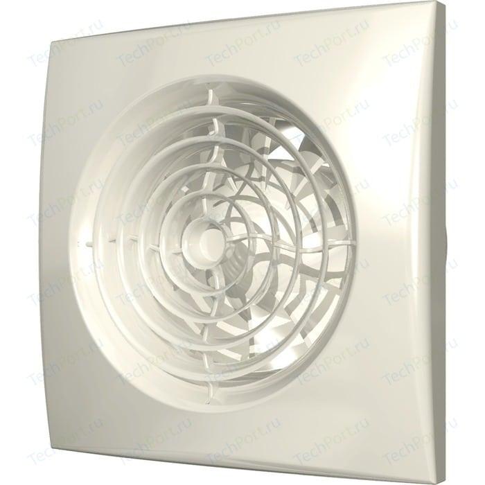 Вентилятор DiCiTi осевой вытяжной D 125 декоративный (AURA 5 Ivory)