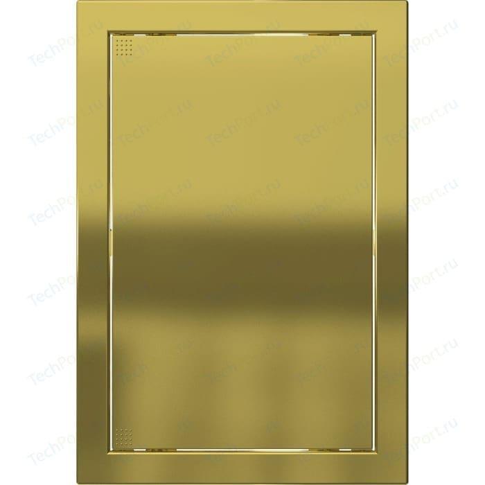 Люк-дверца EVECS ревизионная 218х418 с фланцем 196х396 ABS декоративный (Л2040 Gold)