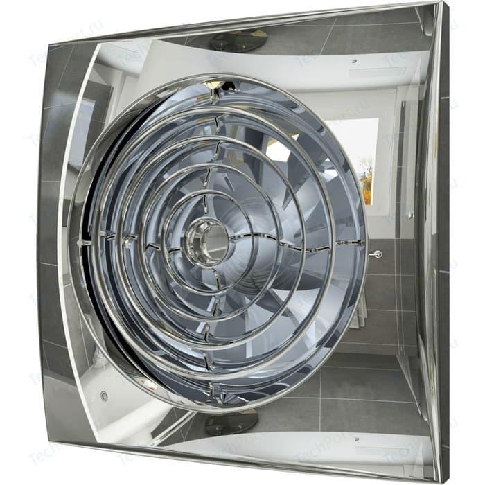Вентилятор DiCiTi Aura D 125 с обратным клапаном (AURA 5C Chrome)