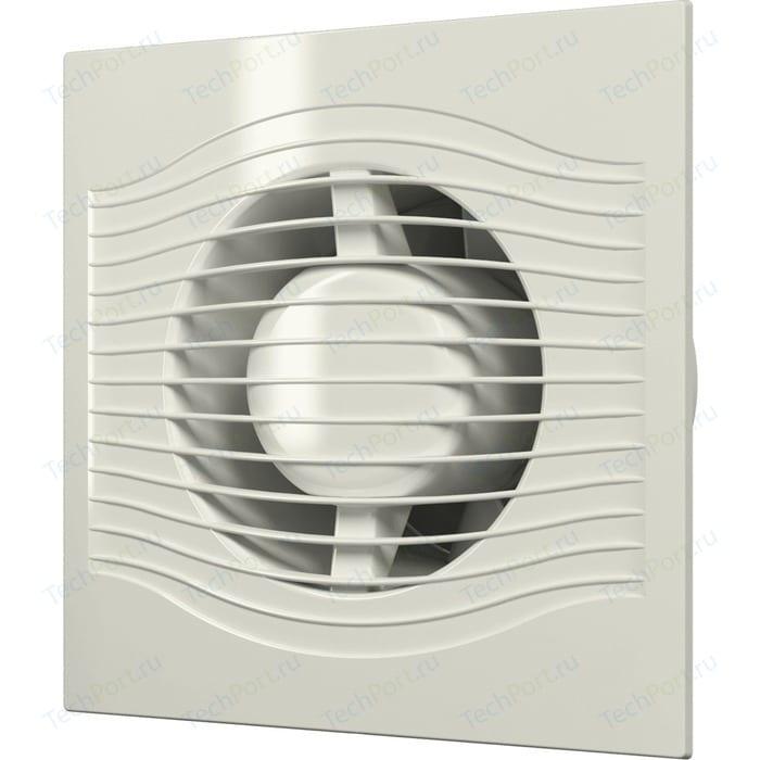 Вентилятор DiCiTi осевой вытяжной D 125 декоративный (SLIM 5 Ivory)