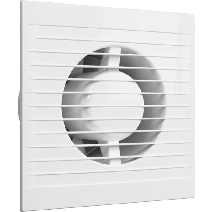 Вентилятор Era E D 125 с обратным клапаном и антимоскитной сеткой (E S C)