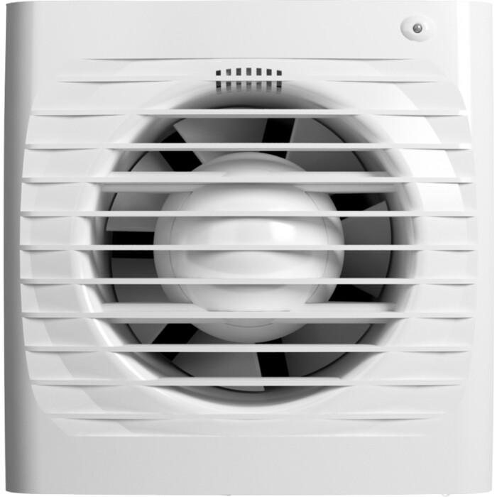Вентилятор Era осевой вытяжной с обратным клапаном электронным таймером D 100 (ERA 4C ET)