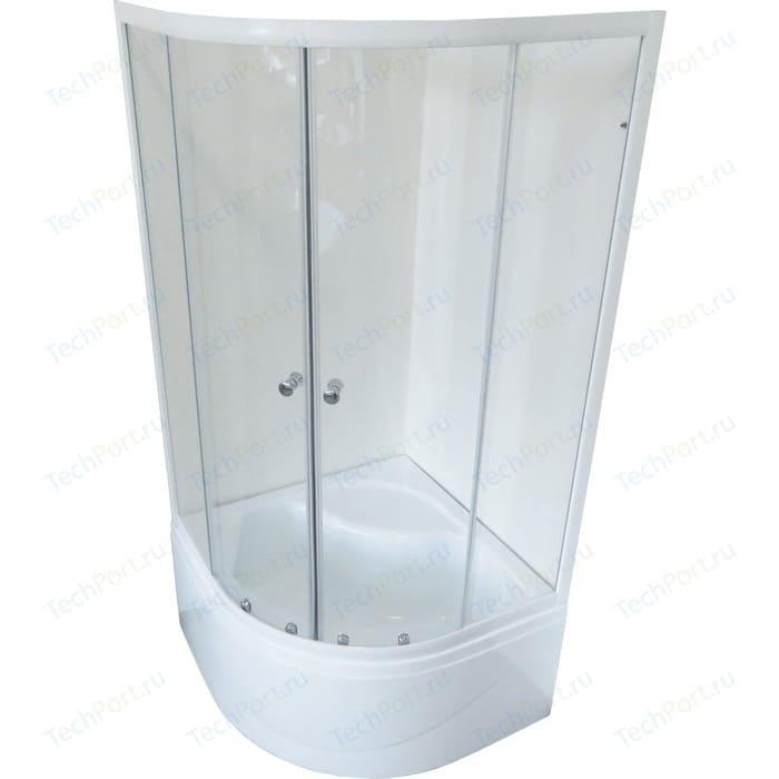 Душевой уголок Royal Bath BK 100x100x200 прозрачное (RB100BK-T)