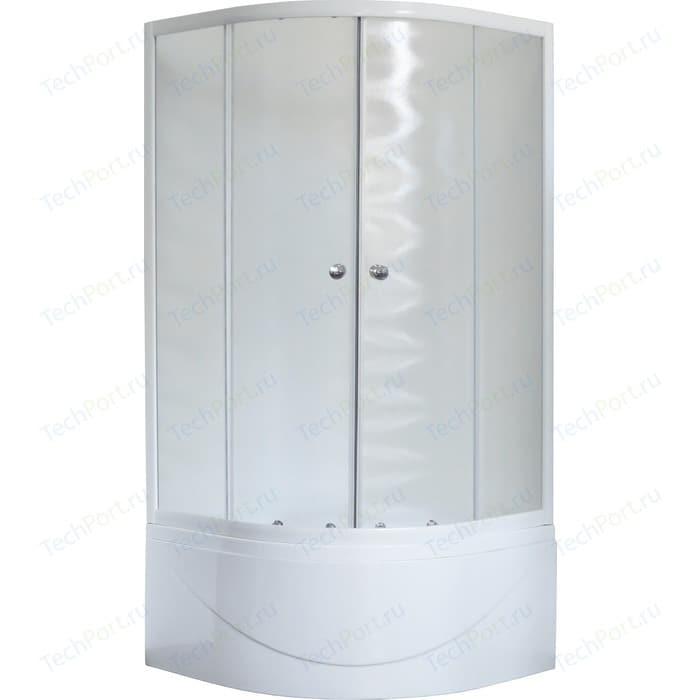 Душевой уголок Royal Bath BK 100x100x200 шиншилла (RB100BK-C)