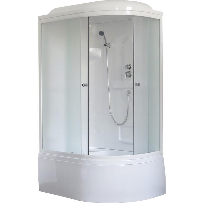 Душевая кабина Royal Bath BK1 120х80х217 стекло шиншилла, левая (RB8120BK1-M-L)