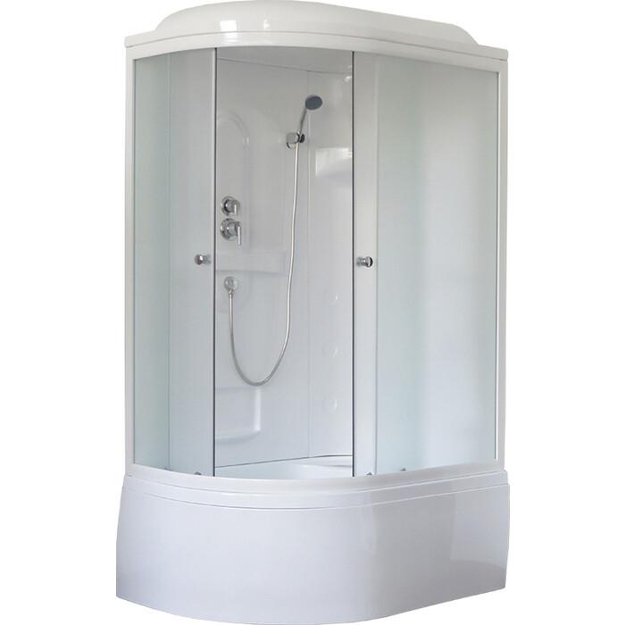 Душевая кабина Royal Bath BK1 120х80х217 стекло шиншилла, правая (RB8120BK1-M-R)