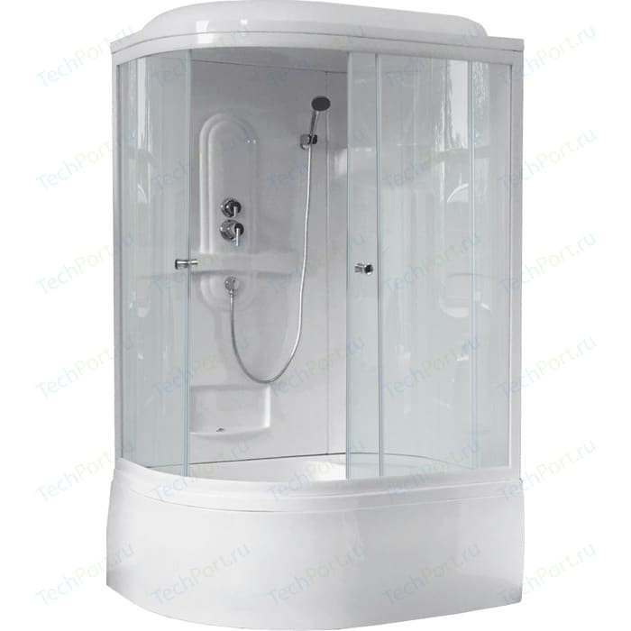 Душевая кабина Royal Bath BK1 120х80х217 прозрачная, правая (RB8120BK1-T-R)