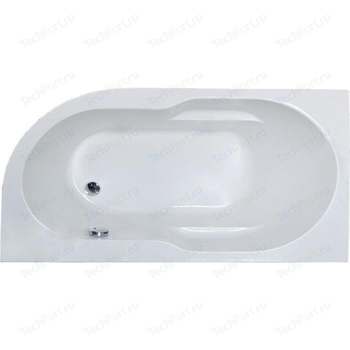 Акриловая ванна Royal Bath Azur 160х80 левая (RB 61 4202L)