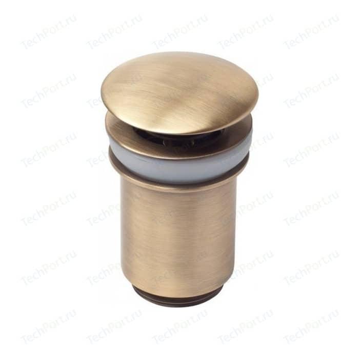 Донный клапан Kaiser Click-clack бронза (8011An)