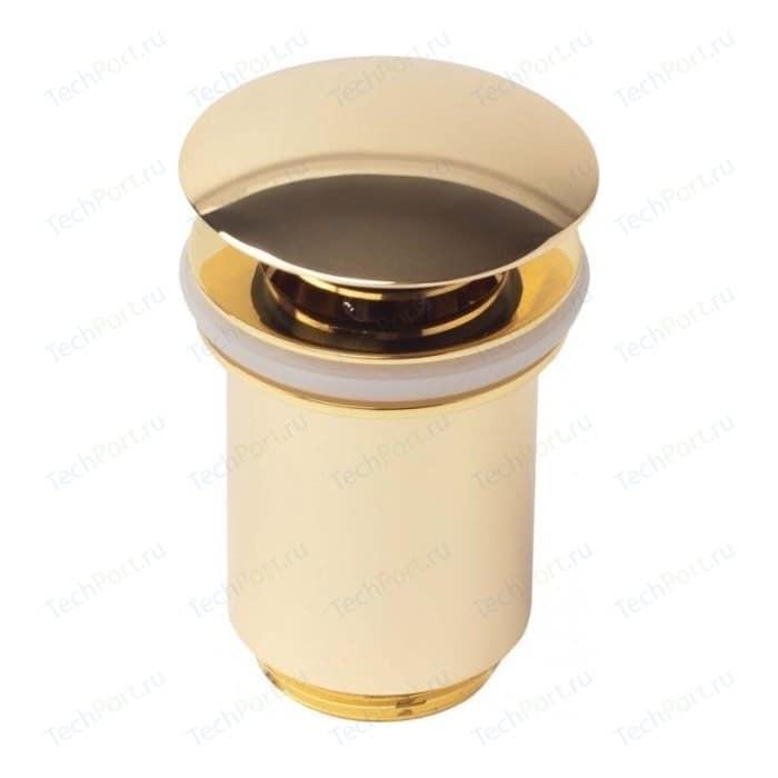 Донный клапан Kaiser Click-clack золото (8011GOLD)