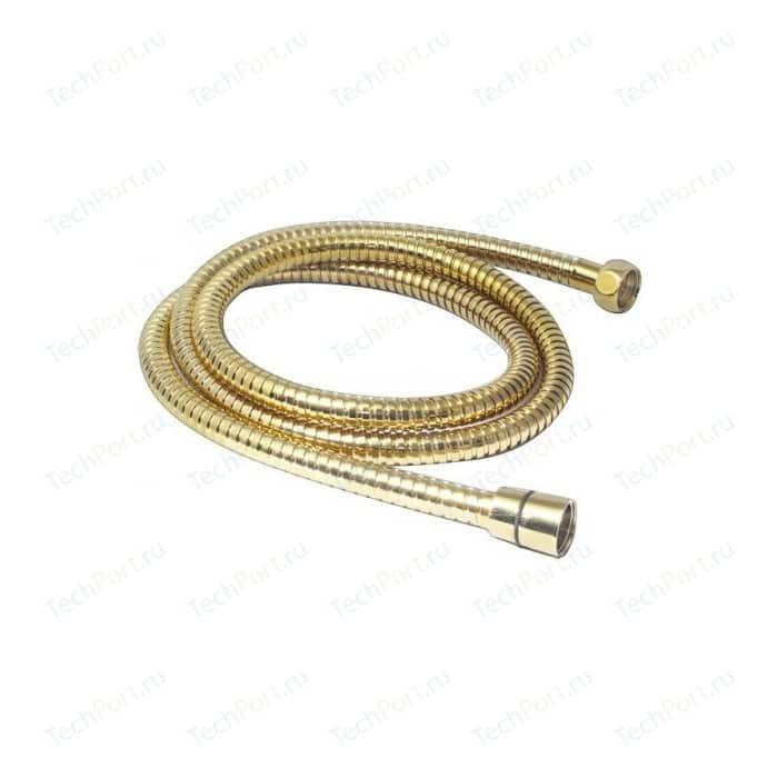 Душевой шланг Kaiser Luxus 150 см, металл, усиленный, золото (0010)