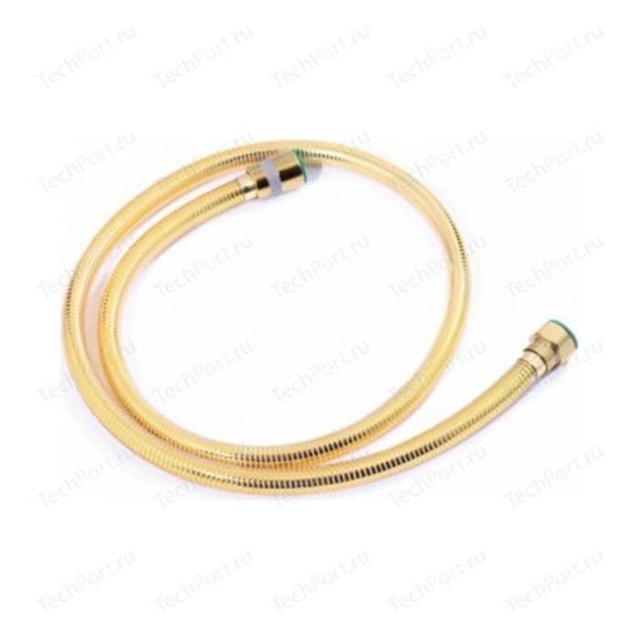 Душевой шланг Kaiser Luxus 175 см, металл, усиленный, золото (0021)