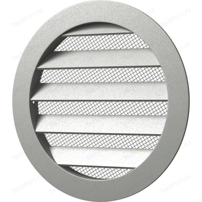 Решетка Era вентиляционная круглая D350 алюминиевая с фланцем D315 (31.5РКМ)