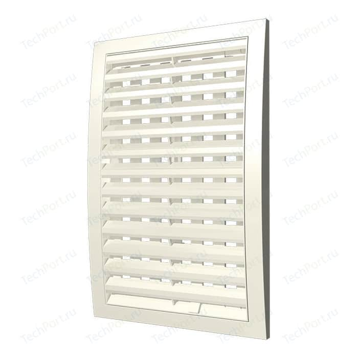 Решетка Era наружная ASA вентиляционная регулируемая 350х350 (3535РРПН Ivory)