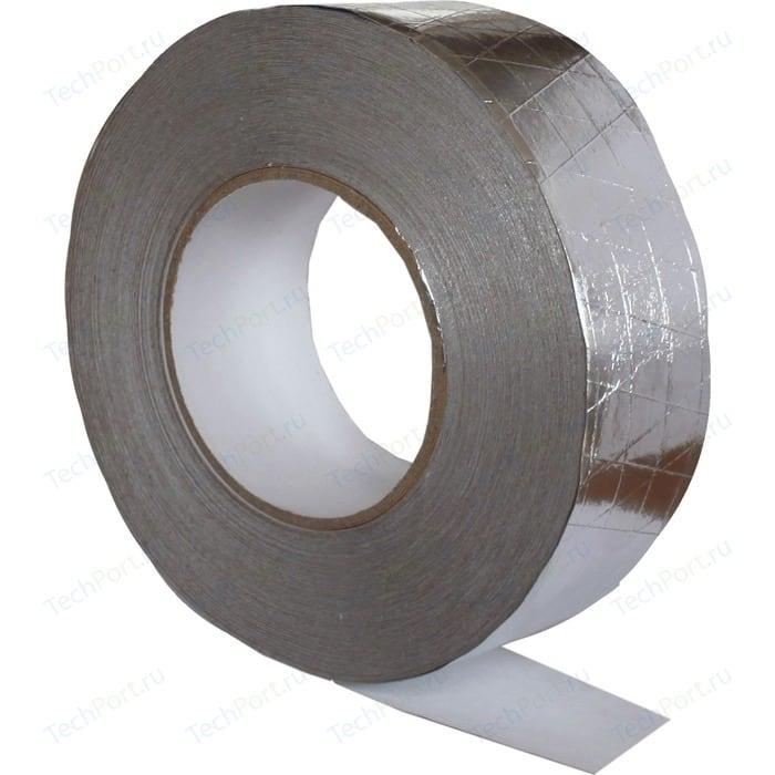 Лента Era монтажная клейкая алюминиевая армированная 50 мм х 50 м 120 мкм. (ЛМА) армированная лента универсальная зубр профессионал 12096 50 10 влагостойкая 48мм х 10м черная