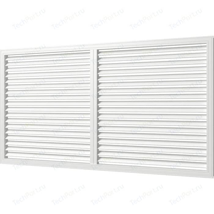 Решетка Era вентиляционная профиль ПВХ 600х1200 бел. (П60120Р)