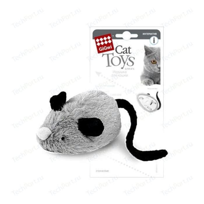 Игрушка GiGwi Cat Toys Interactive интерактивная мышка для кошек (75240)