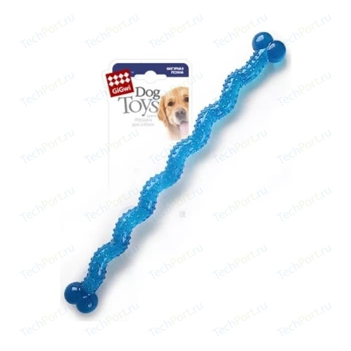 Игрушка GiGwi Dog Toys Rubber резиновая косточка длинная для собак (75249)