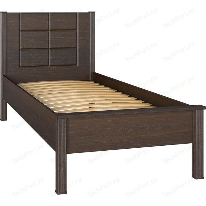 Кровать односпальная Compass ИЗ-07 орех темный