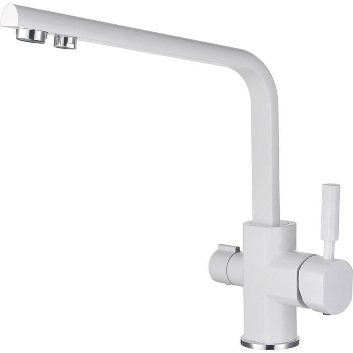 Смеситель для кухни Kaiser Decor под фильтр, белый (40144-10)