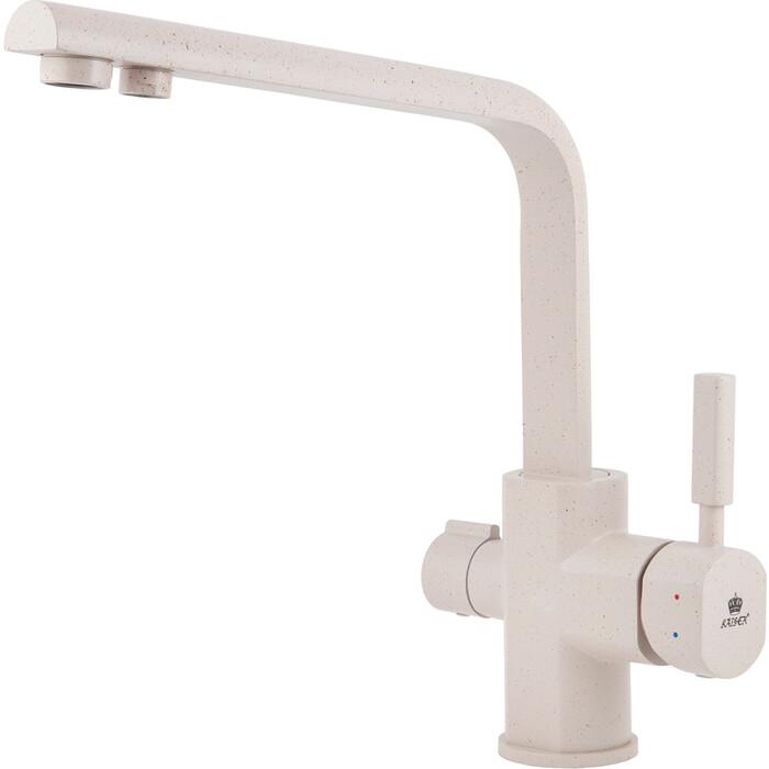 Смеситель для кухни Kaiser Decor под фильтр, песочный Sand (40144-8)