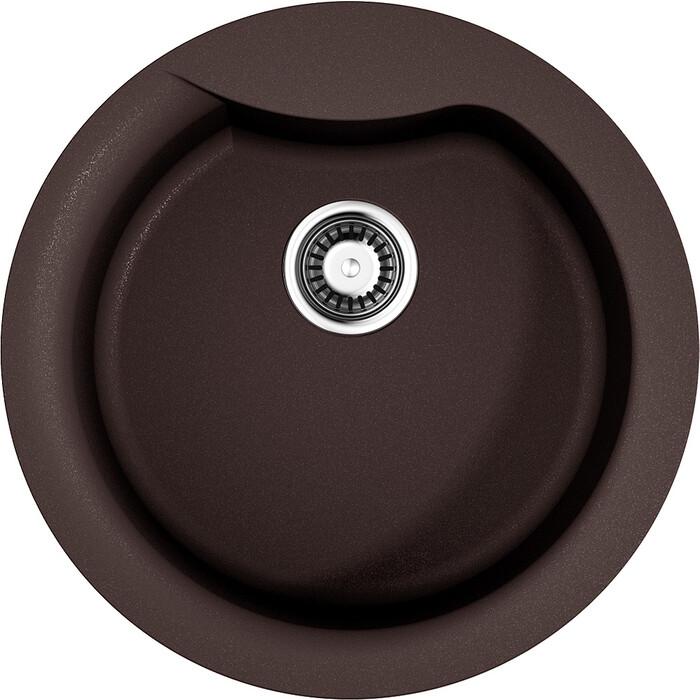 Кухонная мойка Omoikiri Yasugata 48R-DC темный шоколад (4993211)