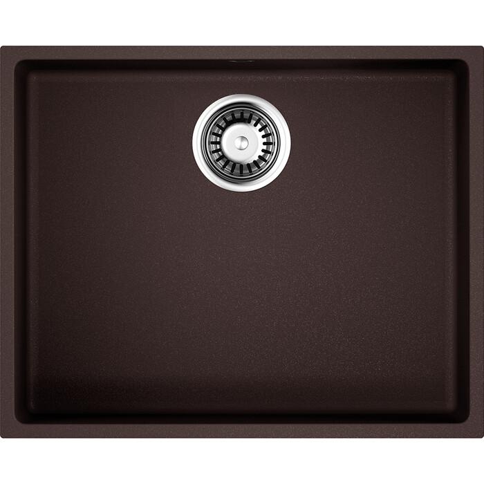 Кухонная мойка Omoikiri Bosen 54-U-DC темный шоколад (4993232)